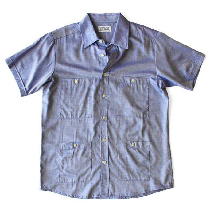 GUAYABERA POCKET SHIRT